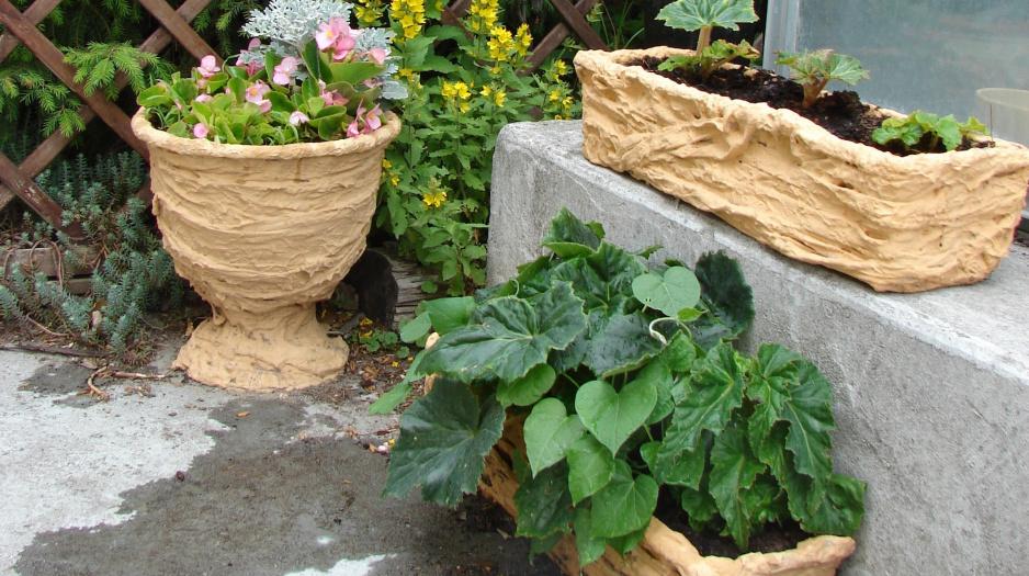 Ręcznie Zdobione Donice Mój Piękny Ogród Ogrody Ozdobne