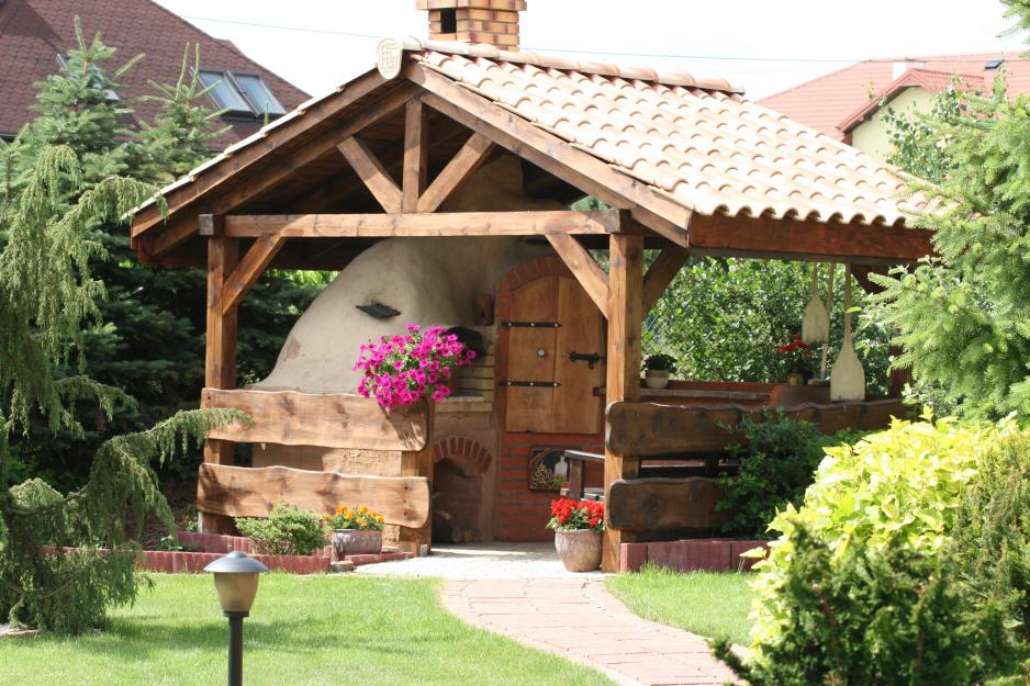 Bardzo dobra Jak zbudować piec chlebowy - Mój Piękny Ogród - Ogrody ozdobne AW93