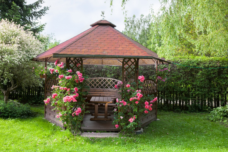 Wybudujmy Altanę Mój Piękny Ogród Ogrody Ozdobne